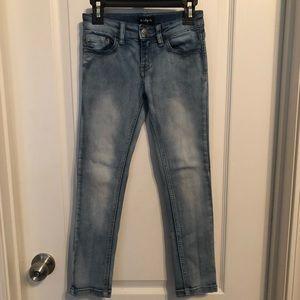 Girls slim fit jeans size 7